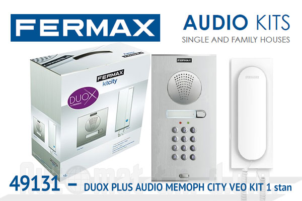 49131 - DUOX PLUS AUDIO MEMOPH CITY VEO KIT  1 stan