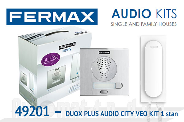 49201 - DUOX PLUS AUDIO CITY VEO KIT  1 stan