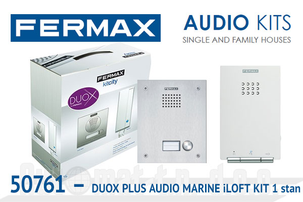 50761 - DUOX PLUS AUDIO MARINE iLOFT KIT  1 stan