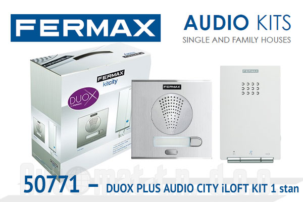 50771 - DUOX PLUS AUDIO CITY iLOFT KIT  1 stan